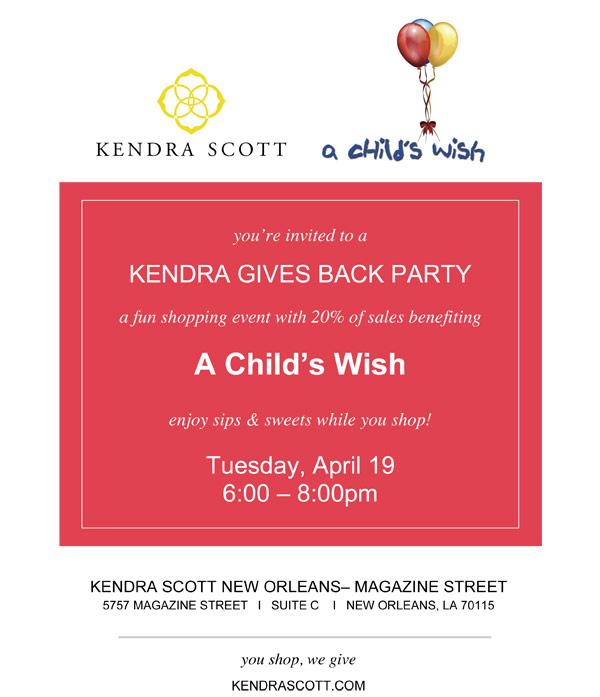 A-Child's-Wish---Kendra-Gives-Back-invitation